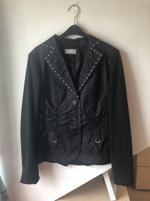 Canda Short Blazer black-silver-colored