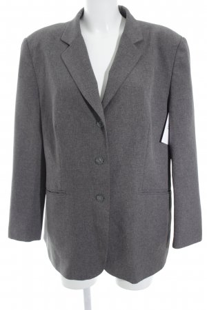 Canda Long-Blazer grau Business-Look