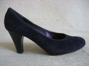 canda schuhe buero business pflaume violet lila gr. 38 neuwertig pumps