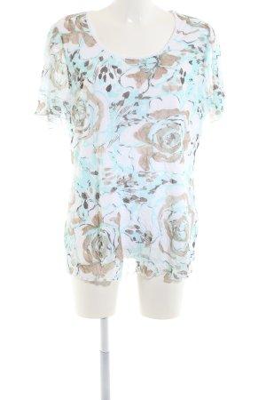 Canda T-Shirt flower pattern casual look