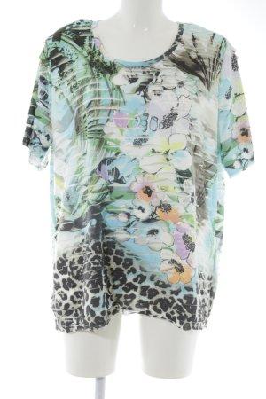 Canda T-Shirt Animalmuster Casual-Look