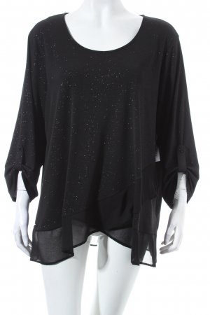 Canda Top schwarz Party-Look
