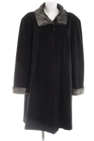 Canda Between-Seasons-Coat black business style
