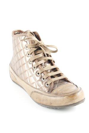Candice Cooper Absatz Sneaker hellbraun extravaganter Stil