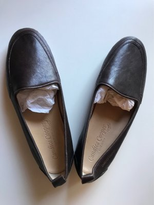 Candice Cooper Ballerinas Slipper Gr.38 Burgund Leder Neu