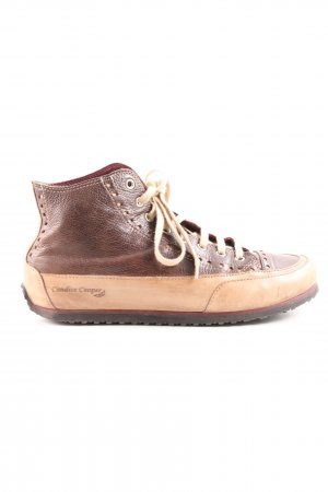 Candice Cooper High Top Sneaker braun-creme Casual-Look