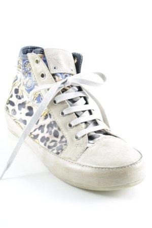 Candice Cooper High Top Sneaker abstraktes Muster sportlicher Stil