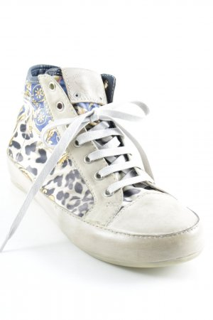 Candice Cooper High Top Sneaker abstraktes Muster sportlicher Stil