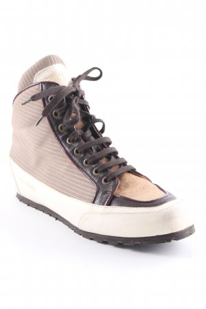 Candice Cooper High Top Sneaker beige-creme sportlicher Stil