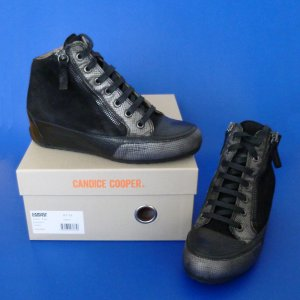 Candice Cooper High Top Sneaker Hidden Wedges 1 x getragen!
