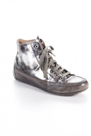 Candice Cooper High Top-Sneaker silber-metallic Gr. 38