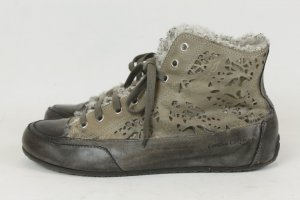 Candice Cooper High Top Sneaker grey-dark grey leather