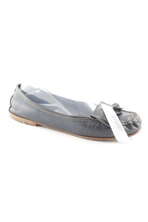 Candice Cooper Schlüpfschuhe beige-dunkelblau Business-Look