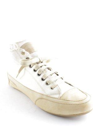 Candice Cooper Schnürsneaker creme-beige Casual-Look
