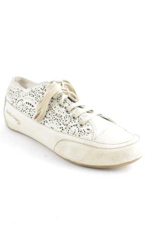 Candice Cooper Sneakers met veters room-beige casual uitstraling