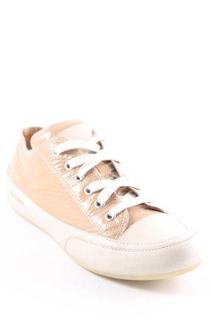 Candice Cooper Sneaker stringata crema-beige stile casual
