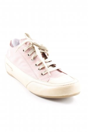 Candice Cooper Schnürsneaker rosa-beige Casual-Look