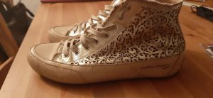 Candice Cooper Lace-Up Sneaker rose-gold-coloured-gold-colored