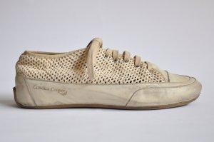 Candice Cooper Sneaker low ROCK FORO ecru / creme Gr. 40
