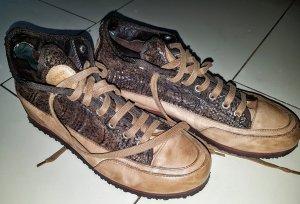 Candice Cooper Sneaker Turnschuhe Boots d g. Neu Eur 269 Plateau Komplett Leder