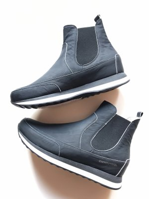 Candice Cooper Chelsea Boots black-white leather