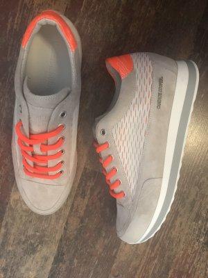 Candice Cooper Sneakers Grau Weiß Gr. 38 Neu NP 229€