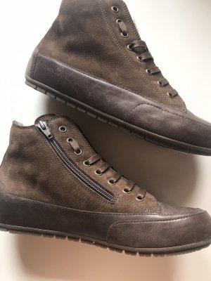 Candice Cooper Sneakers Lammfell Braun Gr. 38 Neu NP 249€