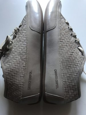 Candice Cooper Sneakers Rock Leder Gr. 38 Beige Neu
