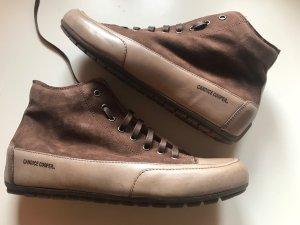 Candice Cooper Sneakers Velourleder Gr. 41 Braun Neu NP 229€