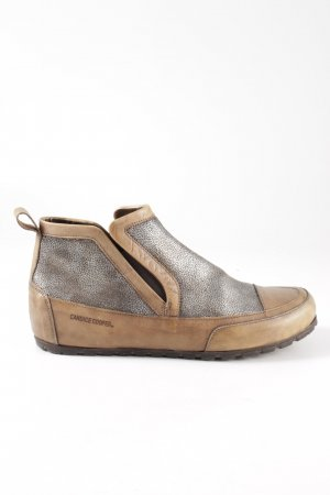 Candice Cooper Wedge Sneaker nude-silver-colored casual look