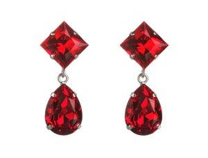 Candy Drops red - Swarovski Kristalle