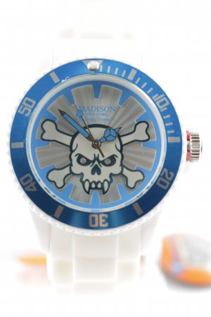 """Candy Time by Madison New York Analog Watch """"Stay Alive """""""