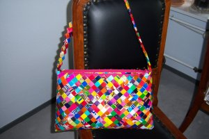 Candy-Wrapper-Handtasche UNIKAT