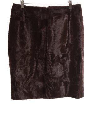 Cantarelli High Waist Rock bronzefarben extravaganter Stil