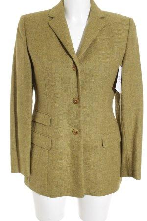 Cantarelli Woll-Blazer limettengelb-olivgrün extravaganter Stil