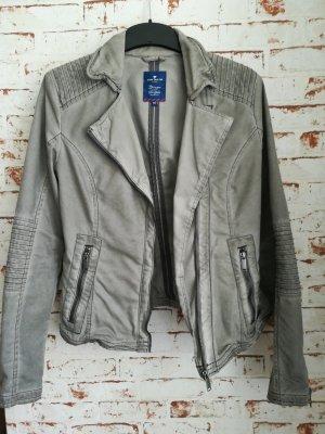 Tom Tailor Biker Jacket grey