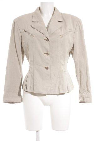 Canvas Blazer en jean beige clair style extravagant