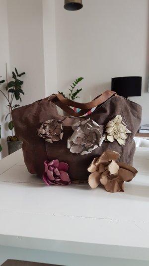 Canvas Leder Bag XL Miss Sixty