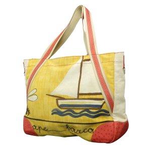 Canvas & Ostrich Sailboat