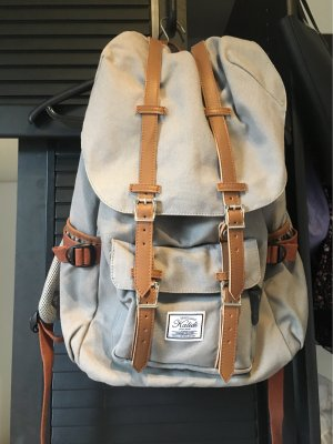 Canvas School Backpack multicolored