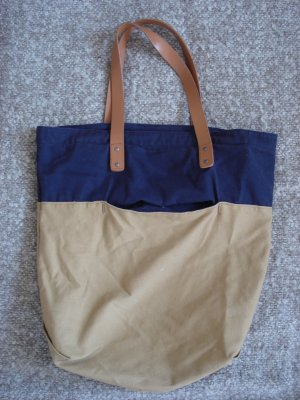 Canvas Shopper handtasche