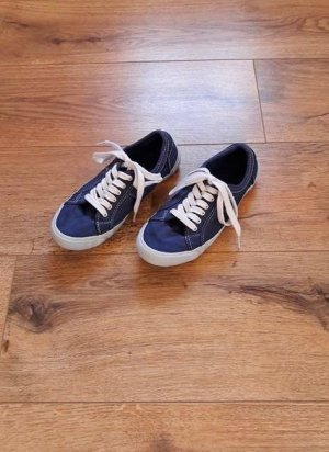 Canvas Stoff Sneakers blau Gr. 36