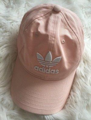 Adidas Gorra de béisbol rosa claro