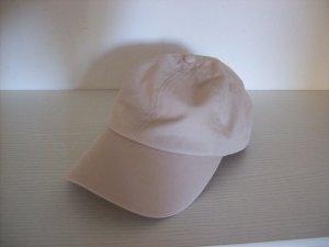 H&M Baseball Cap oatmeal cotton