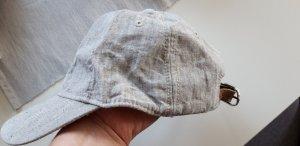 H&M Gorra de béisbol gris claro-marrón