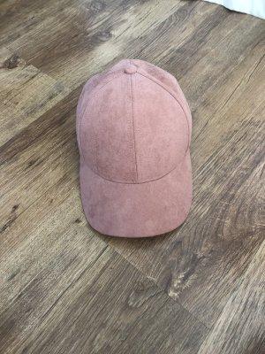 H&M Baseballpet stoffig roze-roze