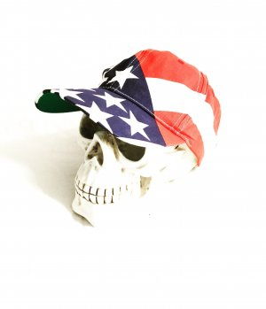 cap / hut / basecap / stars & stripes / usa / us flagge / rot / weiss / blau