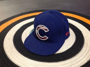 Cap, New Era, 59FIFTY, C, blau-rot-weiß