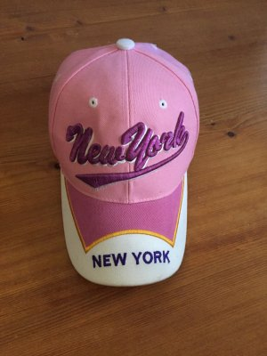 Cap New York in rosa