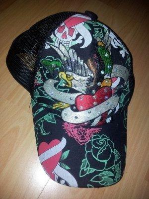 Cap Schirmmütze Tattoo mit Strass